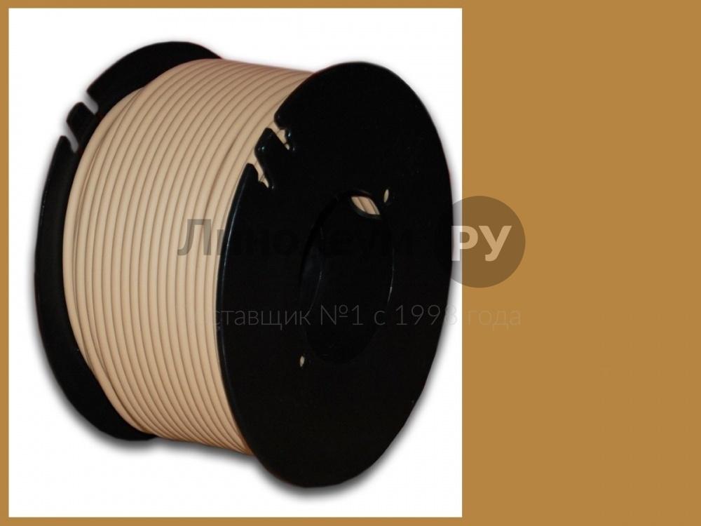 Linoleum.ru Шнур для горячей сварки швов линолеума 100 м Шнур для горячей сварки швов линолеума 100 м Шнур сварочный цвет коричневый (Бухта 100 м.погонных)
